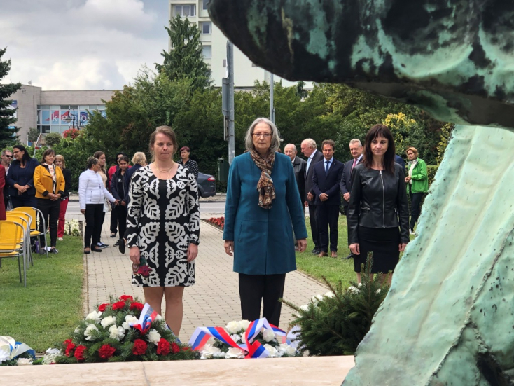 A szlovák történelem legbátrabb tettére emlékeztek Dunaszerdahelyen