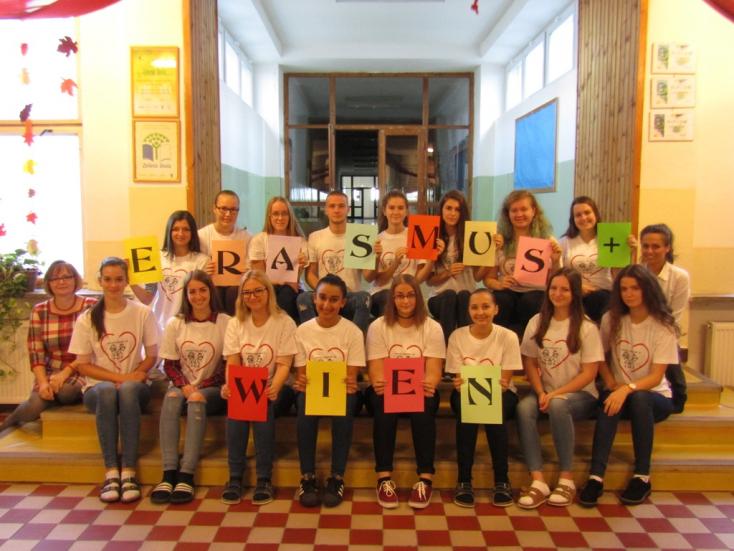 Szakmai gyakorlaton vettek részt Bécsben a Nagymegyeri Kereskedelmi Akadémia diákjai