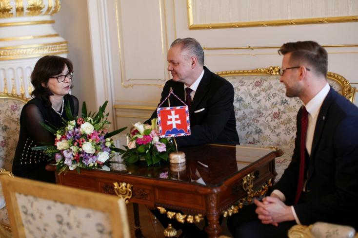 Kiska szerint Lucia Žitňanská távozó igazságügy-miniszter nagyon magasra tette a lécet