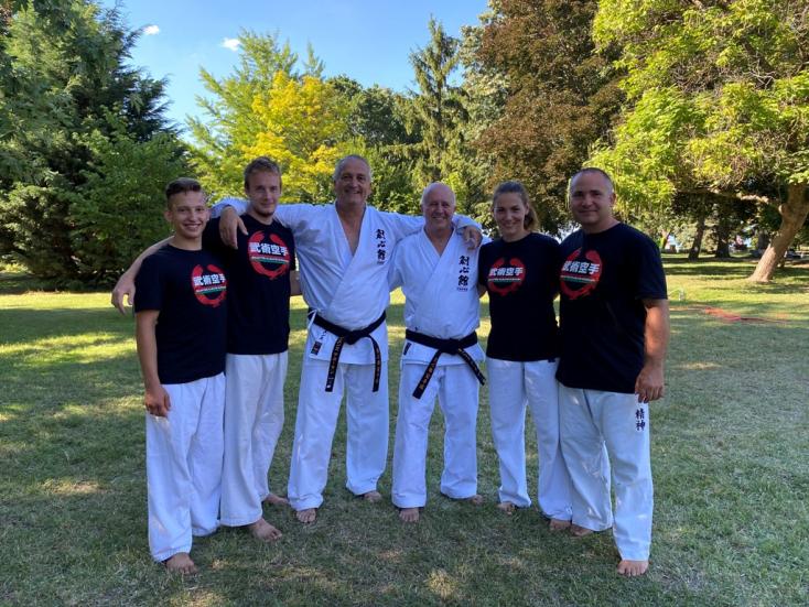 Edzői továbbképzéseken jártak a csallóközi Seishin Karate Klub edzői