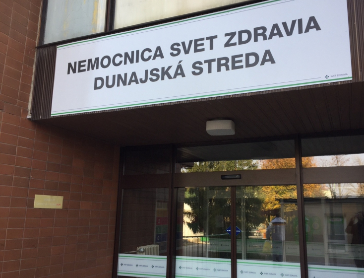 Nem került az ország legjobbjai közé a dunaszerdahelyi kórház