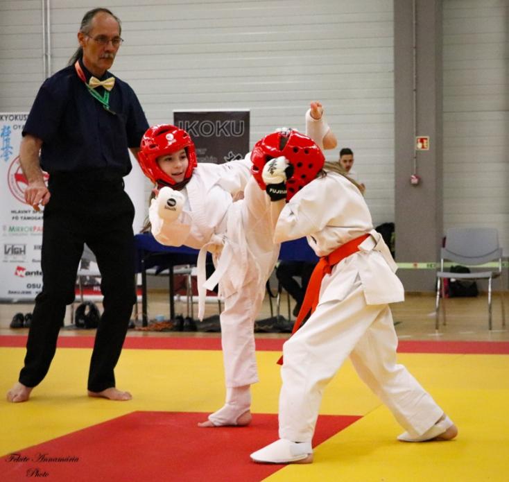 Sikeresen indult a 2020-as versenyszezon a bősi Kyokushin Karate Oyama Dojo számára