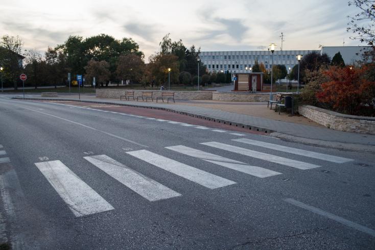 Biztonságosabbak lesznek az érsekújvári gyalogátkelők