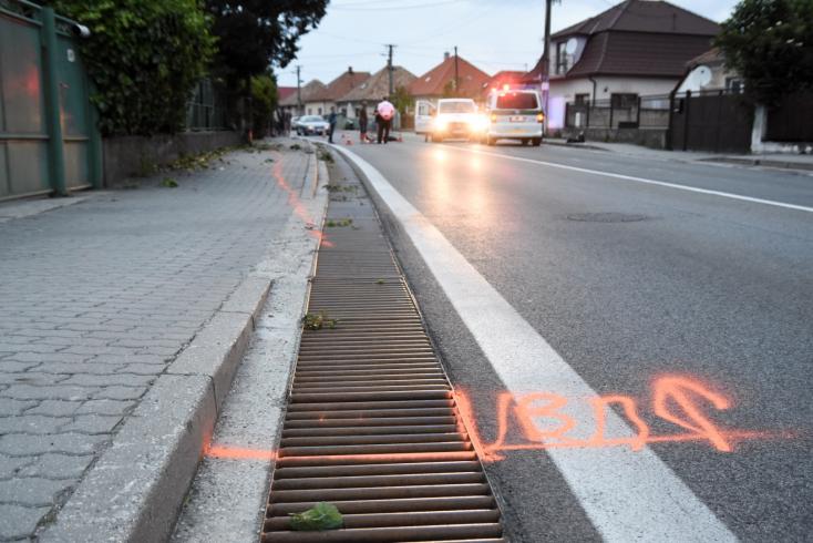 Halálos motorbaleset történt Hegyétén, a 63-as főúton