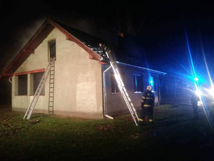 TŰZESET: Felgyújtották a balonyi vadászházat az éjszaka