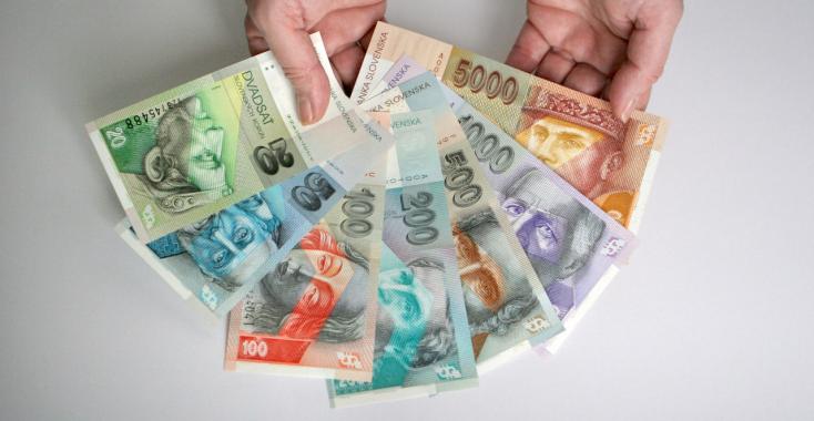 2 milliárd szlovák korona lapul még a zsebünkben