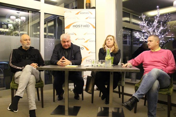 """""""Ezzel a koalícióval ez volt a maximális"""" – lakossági fórumot tartott a Híd Dunaszerdahelyen"""
