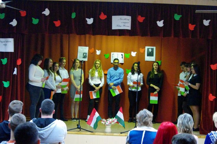 Magyar kultúra napja a Vidékfejlesztési Szakközépiskolában és Sportgimnáziumban