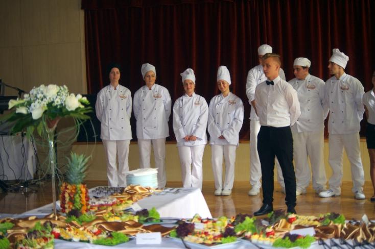 Színvonalas gasztronómiai élménnyel rukkoltak elő a dunaszerdahelyi szakközépiskolások