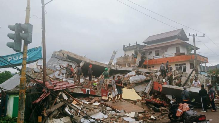 Erős földrengésrázta megaz indonéziai Szulavézi-szigetet