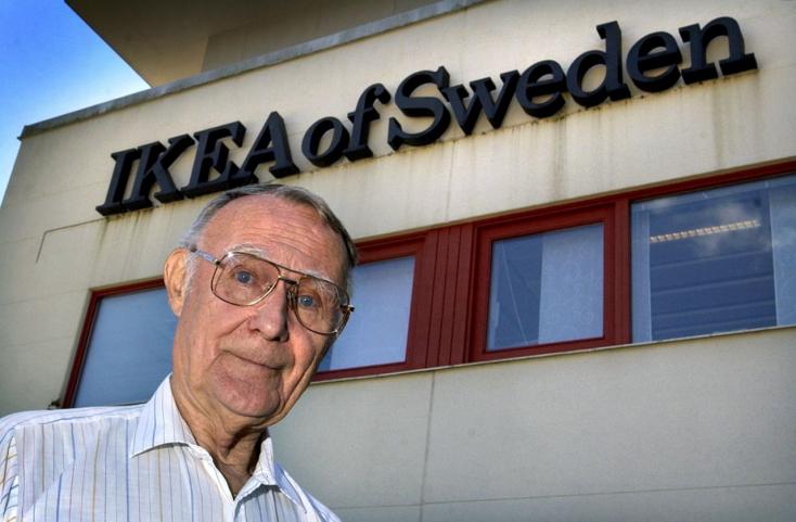 A fejletlen Észak-Svédországra hagyta vagyona felét az IKEA alapítója
