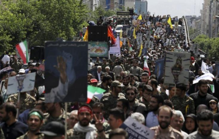 """Teherán elismeri, hogy lelőttek """"randalírozókat"""", de visszautasítja a """"hazug"""" külföldi állításokat"""