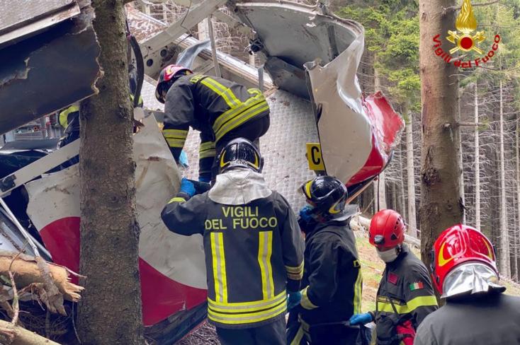 Szándékosan manipulálták a felvonó fékjeit, három ember letartóztatott az olasz rendőrség