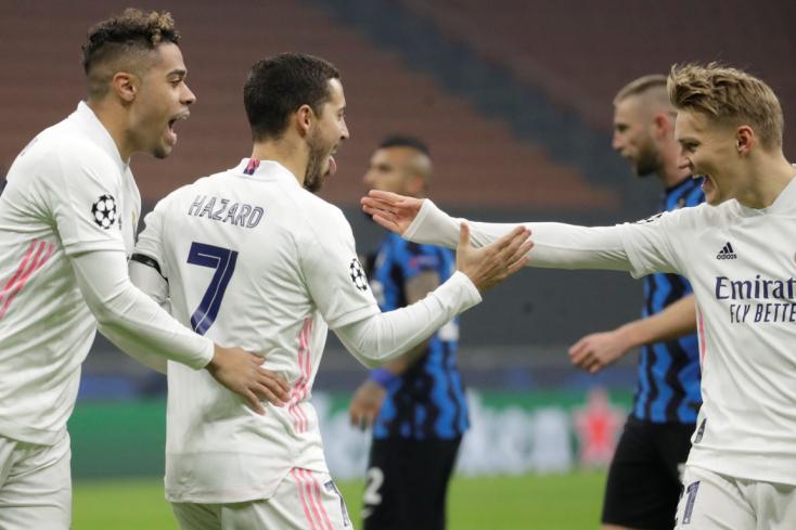 Bajnokok Ligája: Milánóban nyert a Real, a Liverpool kikapott odahaza az Atalantától
