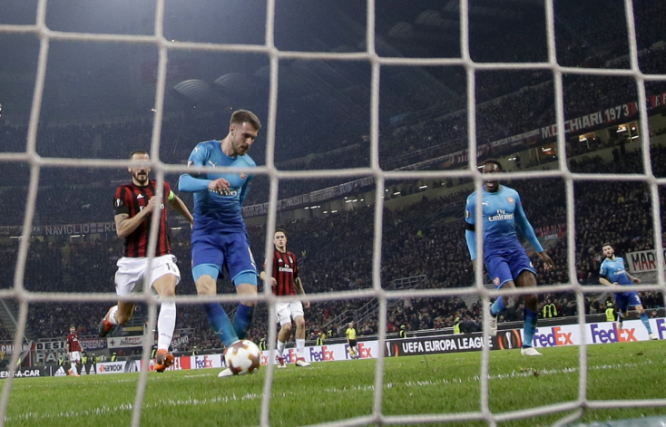 Európa Liga: A San Siróban győzött az Arsenal, otthon bukott a Dortmund (Videó)