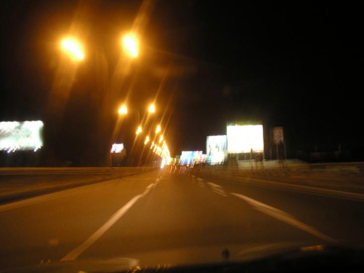 Hat sofőr került sittre a hétvégén Nyitrától Komáromig
