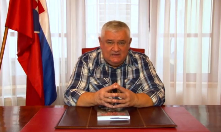 Ján Slota visszatért, és továbbra is gyűlöli a magyarokat