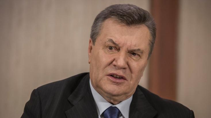 15 év börtönt követel az ukrán katonai főügyész az exelnök Janukovicsra