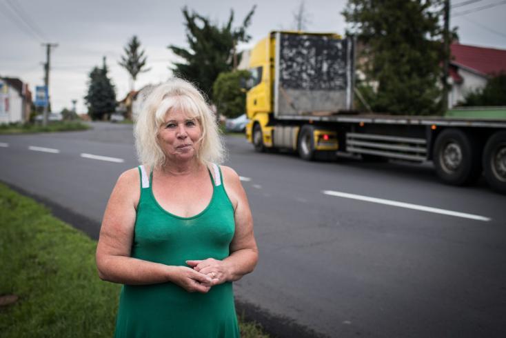 A legidősebb női kamionsofőr meséli el történetét a rozsnyói könyvtárban