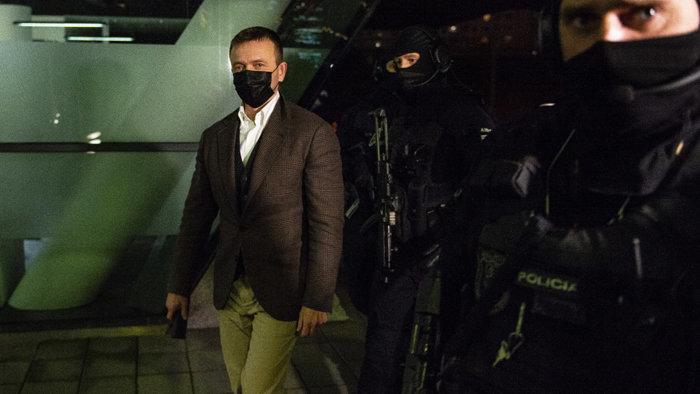 Indítványozta az ügyész Jaroslav Haščák, a Penta társtulajdonosának őrizetbe vételét