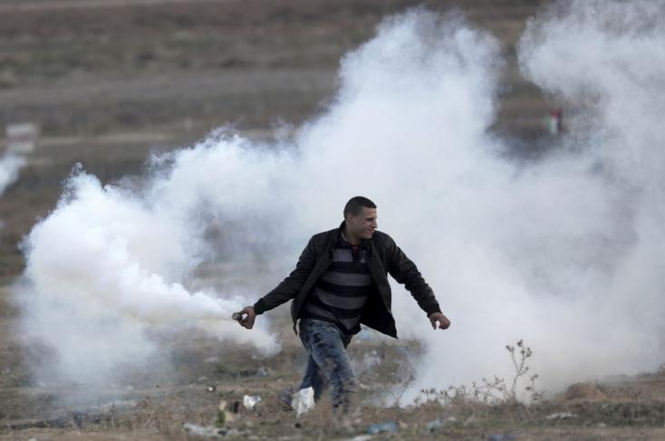Jeruzsálem-kérdés: 37 palesztin tüntetőt lőttek le izraeli katonák