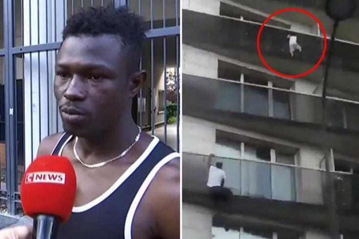 Ami az MTI híréből kimaradt: Migráns mentette meg a balkonról lógó gyereket! (Videó)