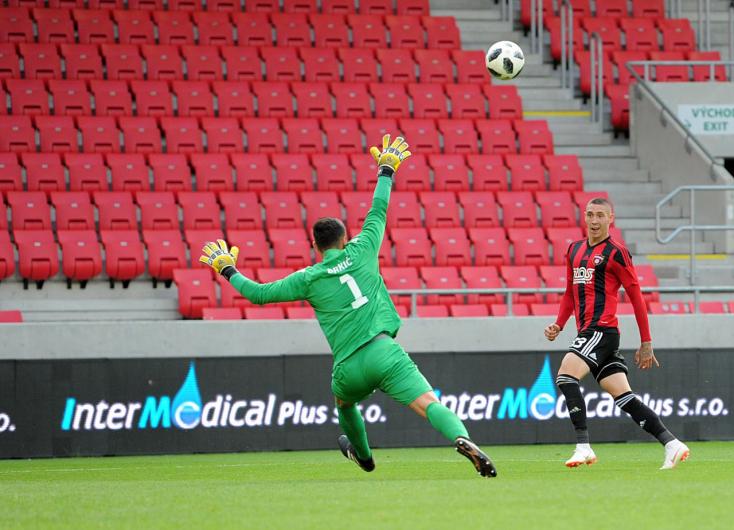 BL-selejtezők: Két piros lap és egy gól a Spartak Trnava meccsén