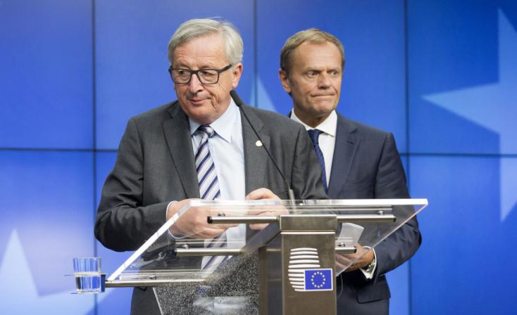 Tusk és Juncker: nem tárgyalható újra a brit kiválási szerződés