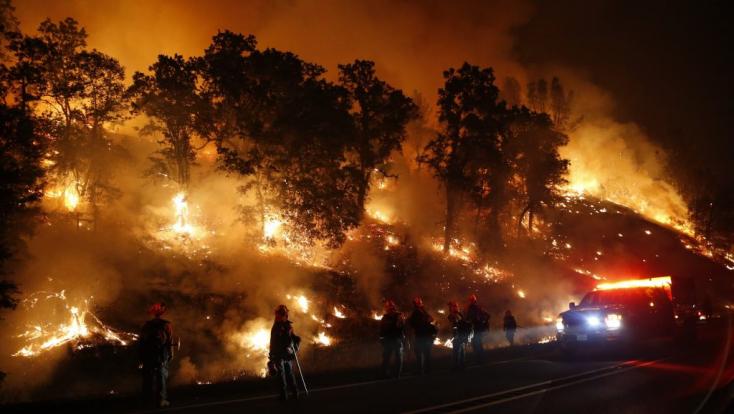 Katasztrófa sújtotta területté nyilvánították a lángoló Kaliforniát!