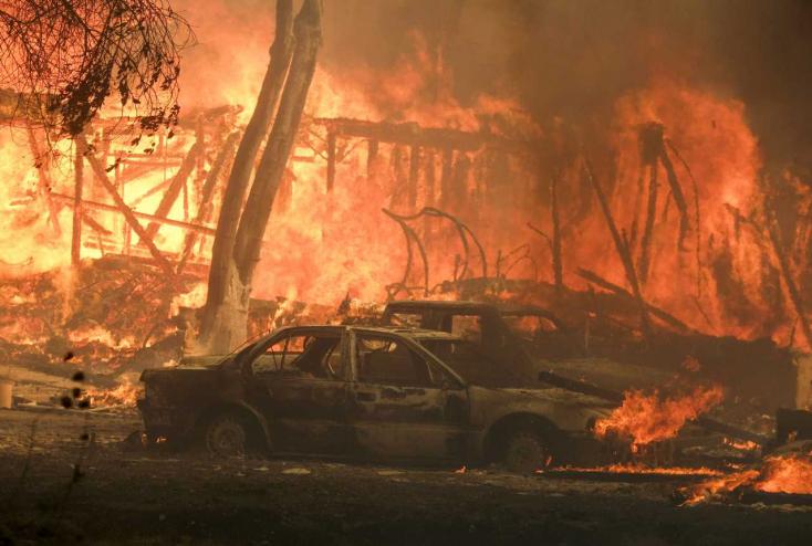 A kaliforniai erdőtüzek füstje károsabb, mint azt gondolnánk