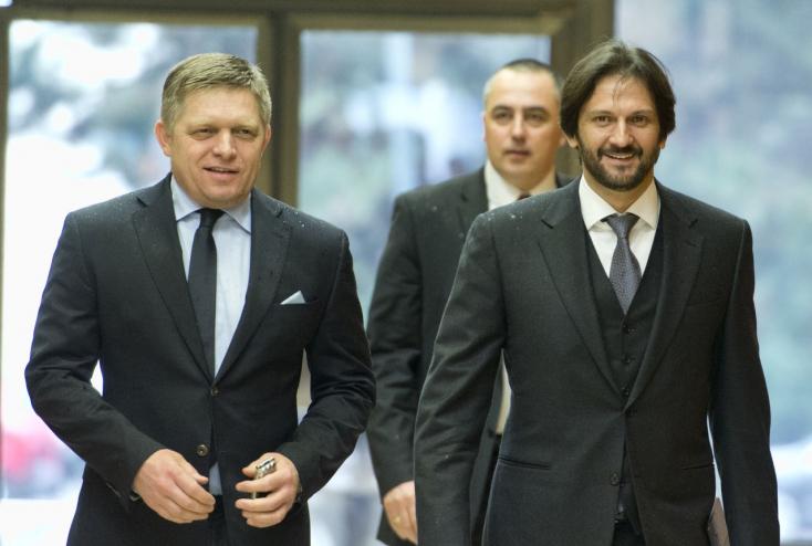 Fico és Kaliňák újra együtt, mint a régi szép időkben!