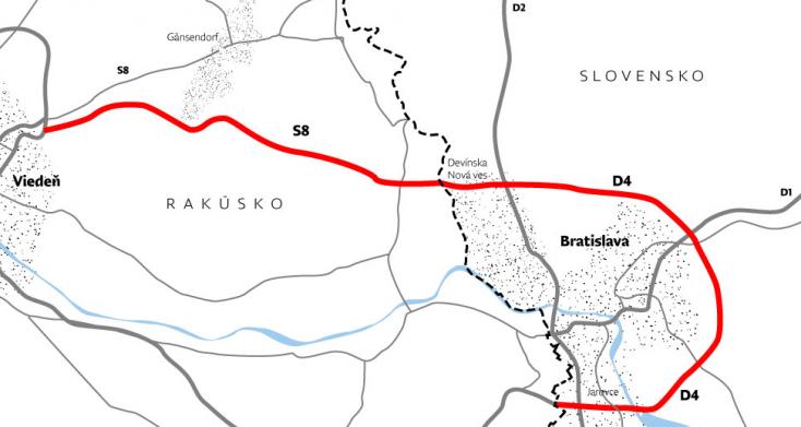 Milliárd euróba kerülne a Pozsonynál megépítendőrekord hosszú alagút