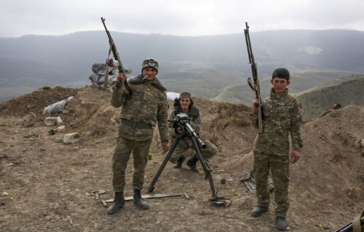 Hegyi-Karabah - Örményország több mint 2300 katonáját vesztette el a harcokban
