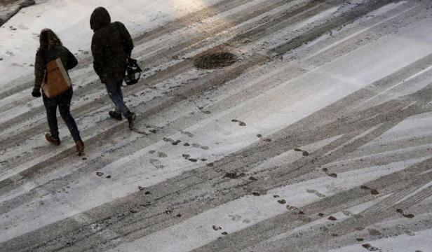 Két nap alatt több mint 280 sérültet kellett ellátni a jeges járdák miatt a kassai kórházakban