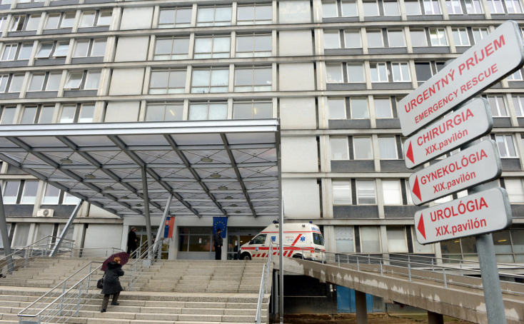 Tűz ütött ki a kassai kórházban, a pácienseket evakuálták