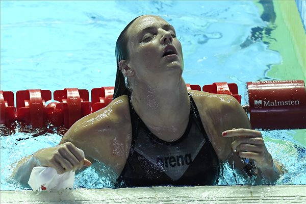 Vizes vb - Hosszú Katinka a legjobb idővel döntős 200 méter vegyesen