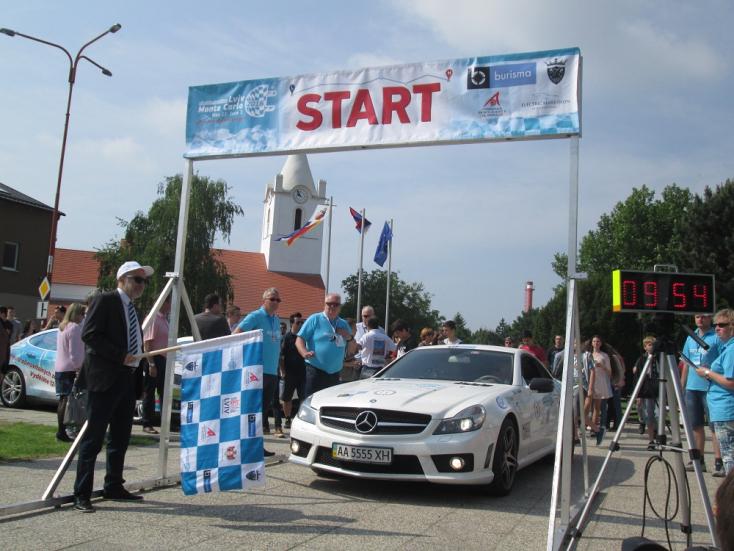Megérkezett a jövő - az Electric Marathon Somorján járt!