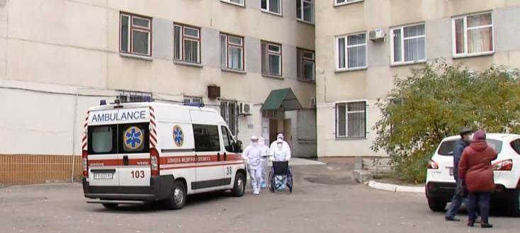 Utcán szült egykoronavírusos nő Ukrajnában,mertnem engedték be akórházba