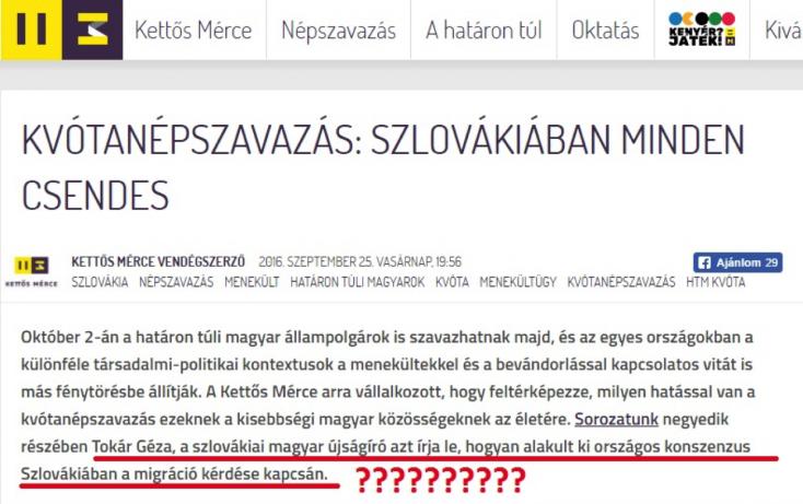 Így hazudik a Kerekasztal-szóvivő Szlovákiáról