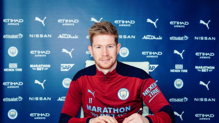 2025-ig szerződést hosszabbított a Manchester City és Kevin de Bruyne