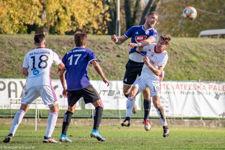 II. labdarúgóliga, 17. forduló: Osztálykülönbséggel nyerték az idényzárót a komáromiak