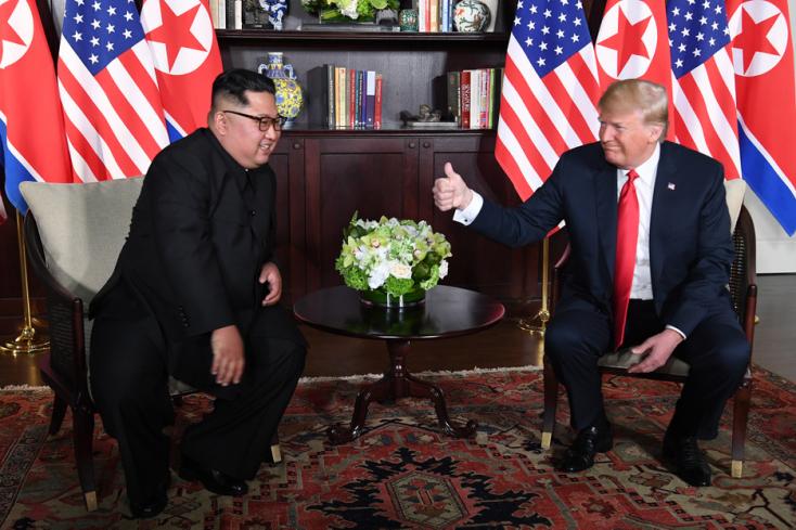Trump megmutatta Kimnek a Vadállatot, minden nagyon szép, minden nagyon jó…