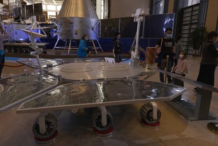 Kína is megérkezett a Marsra!