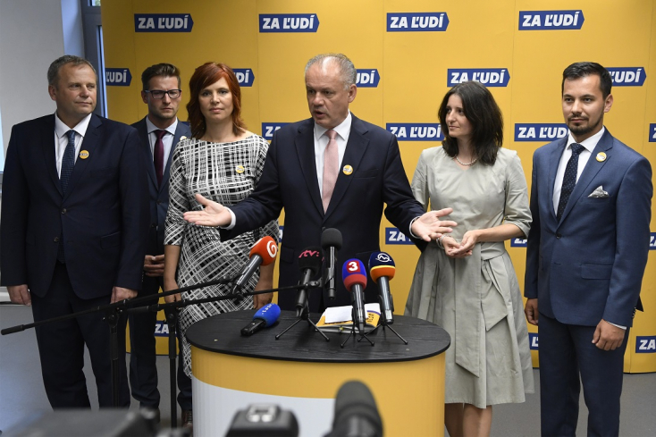 Felállt Kiska pártja, öt alelnök segíti a munkáját