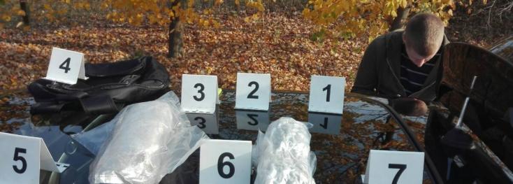 Kábítószer-kereskedőket fogtak el a szlovák határ közelében