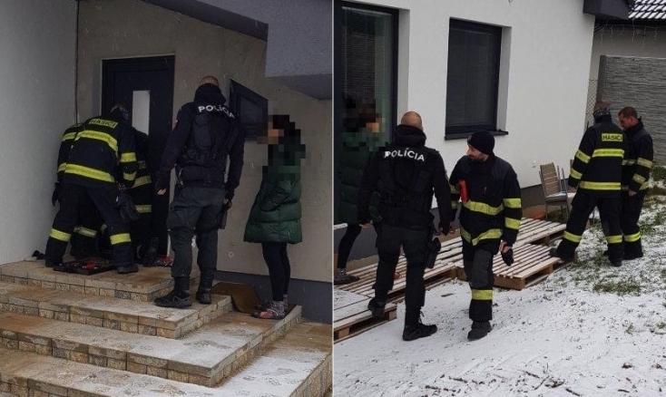 Véletlenül kizárta magát a házból az anyuka, kisbabája egyedül maradt a lakásban