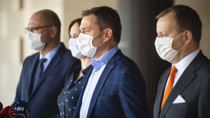 Kollár és Korčok nem azonosul Matovič és Sulík  a koronavírus-járvány terjedésének megakadályozása céljából hozott húsvéti intézkedések kapcsán tett kijelentéseivel
