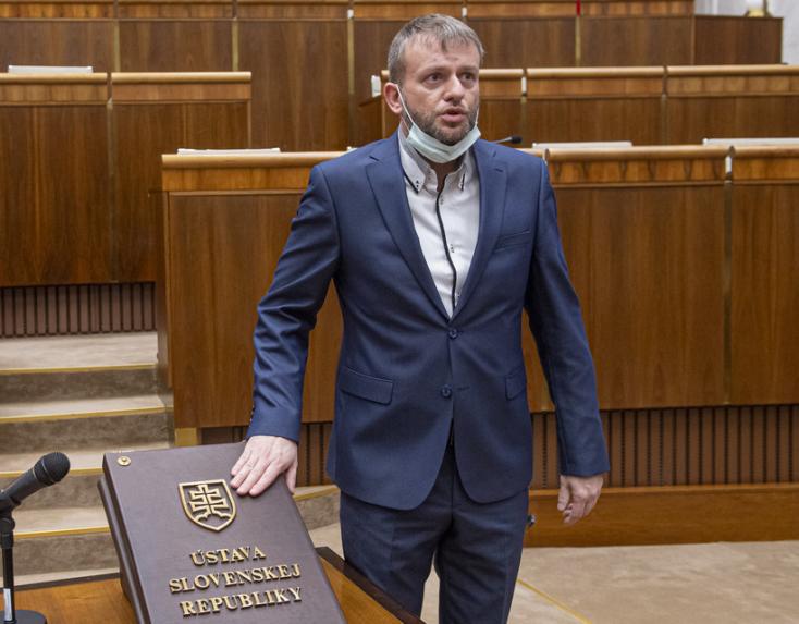 Koronavírusos a ĽSNS parlamenti képviselője