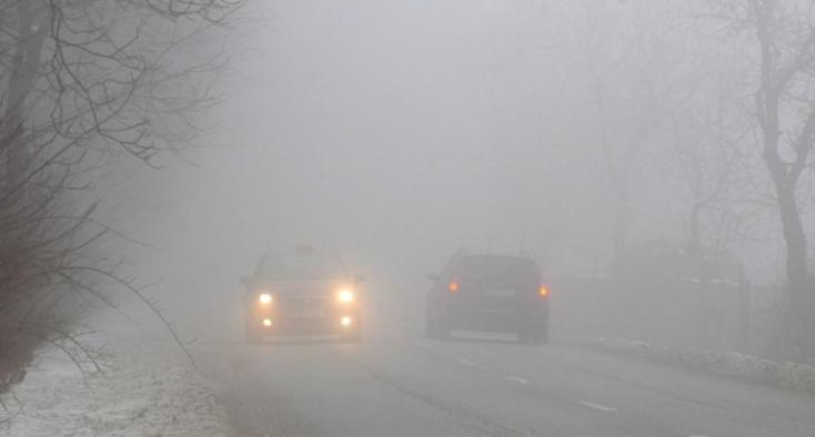 Csütörtök reggel szinte az egész ország területén ködre számíthatunk
