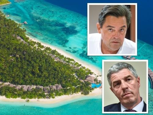 Bugár Béla Marián Kočnerrel találkozott a Maldív-szigeteken